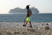 <h5>Metal Detecting on Bonaire Cruise Ship leaving port</h5><p>																																																																																																																																																																																																																																														</p>