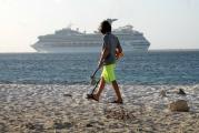 <h5>Metal Detecting on Bonaire Cruise Ship leaving port</h5><p></p>