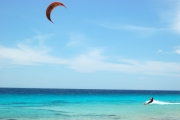 <h5>Kiter at Atlantis Beach Bonaire</h5><p>																																																																																																																																								</p>