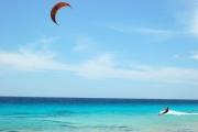<h5>Kiter at Atlantis Beach Bonaire</h5><p></p>
