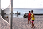 <h5>Beach Tennis is a growing sport on the island</h5>