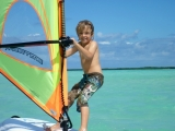 <h5>Learn to Windsurf in Lac Bay</h5>