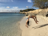 <h5>gymnastics on Bachelor's Beach Bonaire</h5><p>																																																			</p>