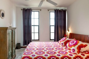 Cozy master bedroom with air conditioning vacation rental
