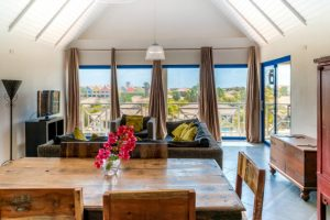 cathedral ceilings sunny loft vacation rental
