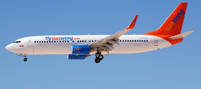 Sunwing Airlines Sun Wing airlines non-stop Toronto Bonaire