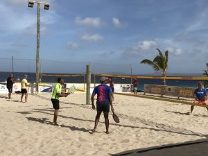 beach tennis bonaire tournament