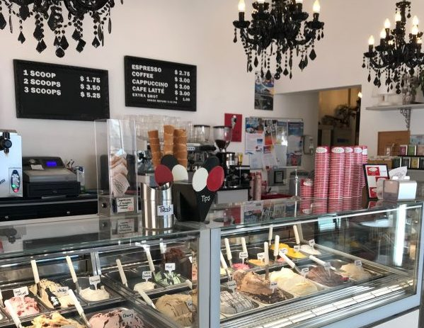 Gio's Gelateria ice cream on Bonaire