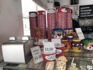 coffee cappuccino bonaire - prices for ice cream at gio's Gelateria