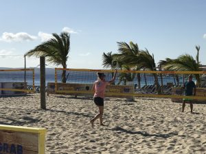 beach tennis at coco beach