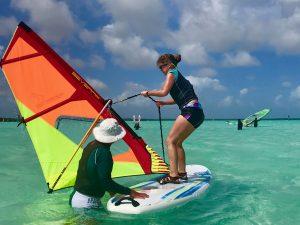 learn to windsurf bonaire