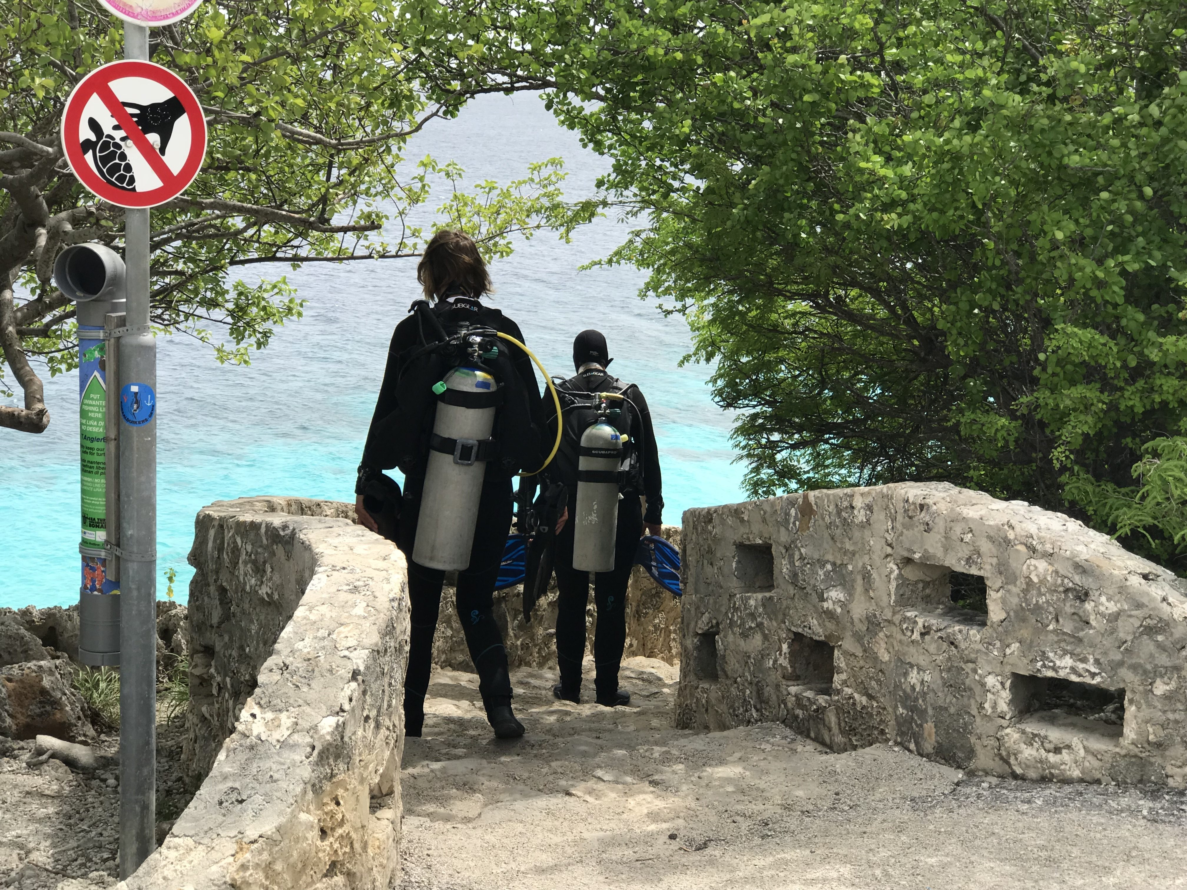 must see beaches of bonaire - thousand steps