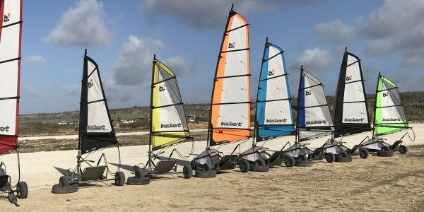 What to do on Bonaire: Land Sailing